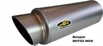 G&G SPORTSCHALLDÄMPFER INOX - MOTO2 - YZF 1000R1 2002-2003