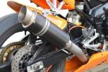 G&G SPORTSCHALLDÄMPFER BLACK INOX - MOTO2 - YZF 1000 R1 98-01