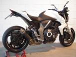 G&G SPORTSCHALLDÄMPFER HONDA CB1000R - MOTO 2 - BLACK INOX