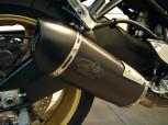 G&G SPORTAUSPUFF BLACK INOX - FZ8 - MIT ENDKAPPE RUND - 270mm